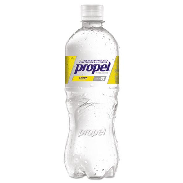 Flavored Water, Lemon, Bottle, 500ml, 24/carton
