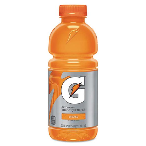 G-series Perform 02 Thirst Quencher, Orange, 20 Oz Bottle, 24/carton