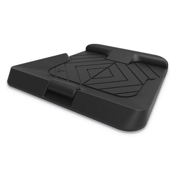Anti-fatigue Floor Mat, 29.25w X 27d, Black
