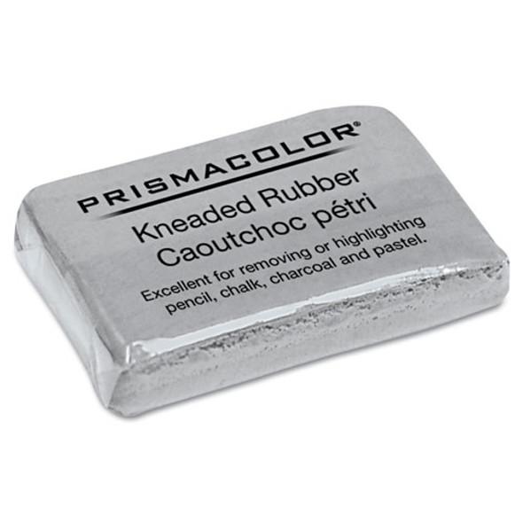 Design Kneaded Rubber Art Eraser, Rectangular, Large, Gray