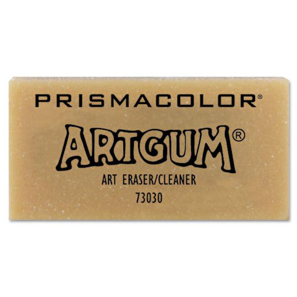 Artgum Eraser, Rectangular, Large, Off White, Kneaded Rubber, Dozen
