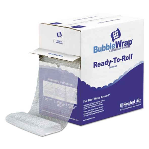 """Bubble Wrap Cushioning Material In Dispenser Box, 3/16"""" Thick, 12"""" X 175 Ft."""
