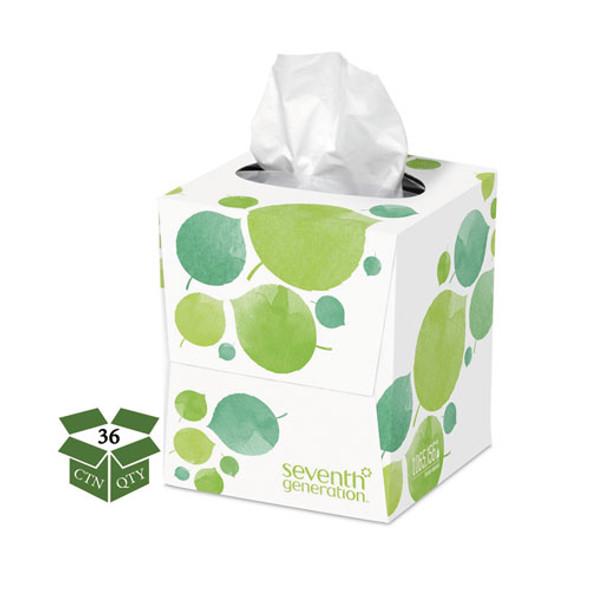100% Recycled Facial Tissue, 2-ply, 85 Sheets/box, 36 Boxes/carton