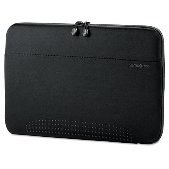 """15.6"""" Aramon Laptop Sleeve, Neoprene, 15-3/4 X 1 X 10-1/2, Black"""