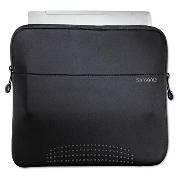 """14"""" Aramon Laptop Sleeve, Neoprene, 14-1/2 X 1 X 10-1/2, Black"""