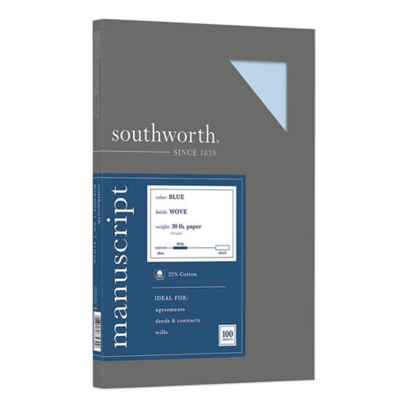 25% Cotton Manuscript Cover, 30lb, 9 X 12.5, 100/pack