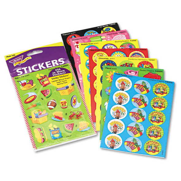 Stinky Stickers Variety Pack, Sweet Scents, 483/pack