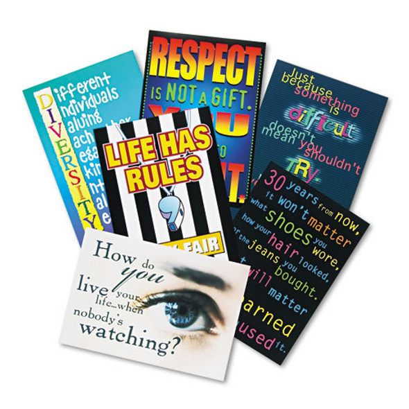 """""""building Character"""" Argus Poster Combo Pack, 13 3/8 X 9, 6/pack"""