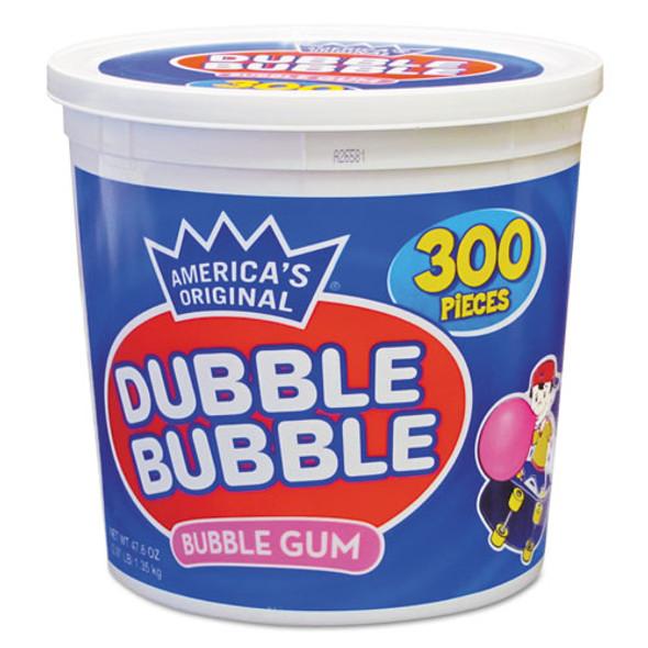 Bubble Gum, Original Pink, 300/tub