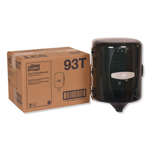 Centerfeed Hand Towel Dispenser, 10.125 X 10 X 12.75, Smoke