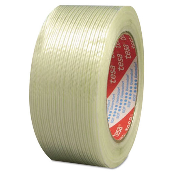 """319 Performance Grade Filament Strapping Tape, 0.75"""" X 60 Yds, Clear"""