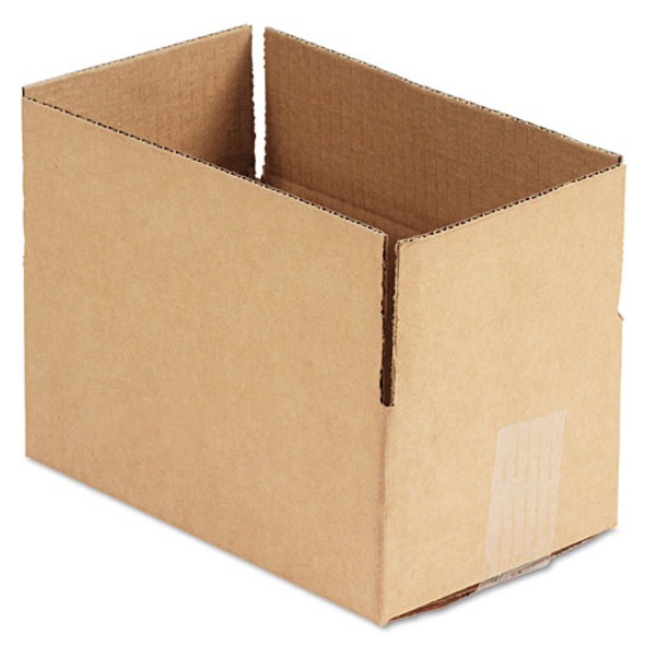 """Fixed-depth Shipping Boxes, Regular Slotted Container (rsc), 10"""" X 6"""" X 4"""", Brown Kraft, 25/bundle"""