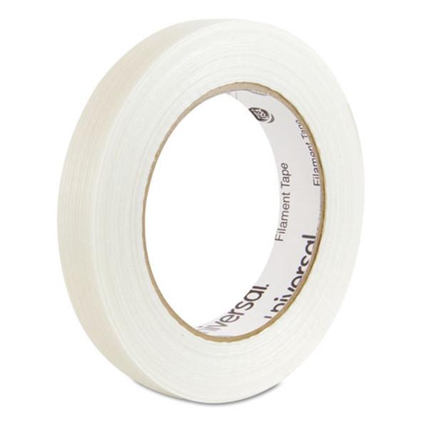 "120# Utility Grade Filament Tape, 3"" Core, 18 Mm X 54.8 M, Clear"