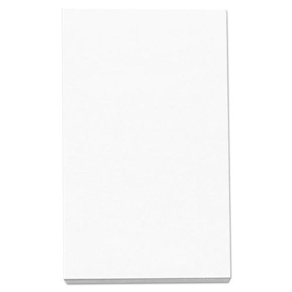 Loose White Memo Sheets, 3 X 5, Unruled, Plain White, 500/pack