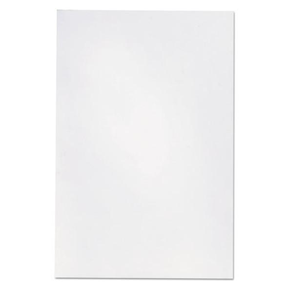 Loose White Memo Sheets, 4 X 6, Unruled, Plain White, 500/pack