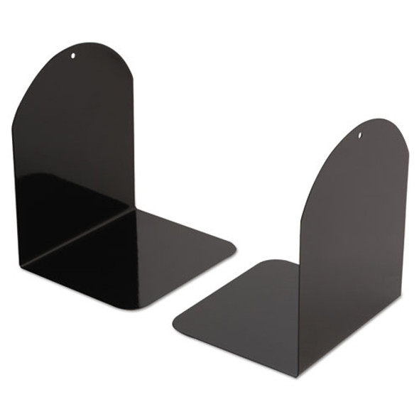 Magnetic Bookends, 6 X 5 X 7, Metal, Black