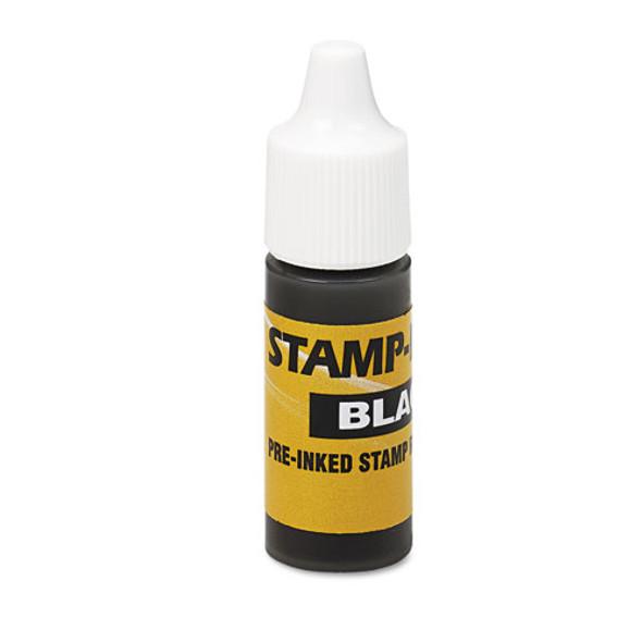 Refill Ink For Clik! & Universal Stamps, 7ml-bottle, Black