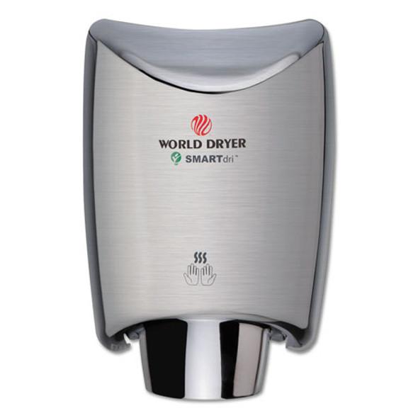 Smartdri Hand Dryer, Stainless Steel, Brushed