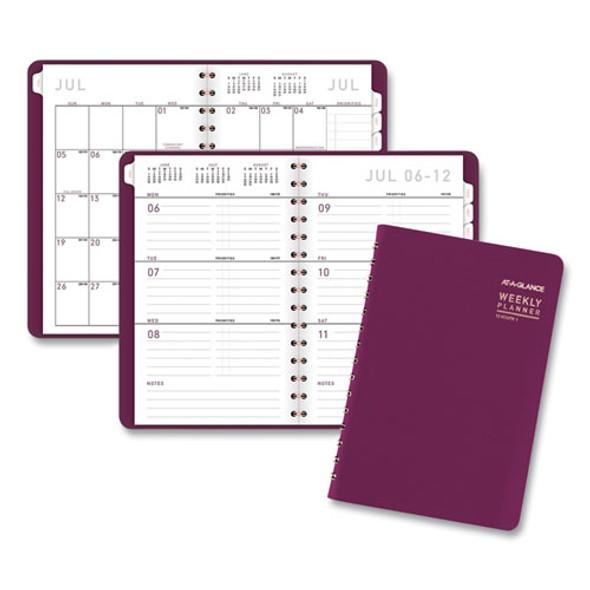 Contemporary Academic Planner, 8 X 4.88, Purple, 2020-2021