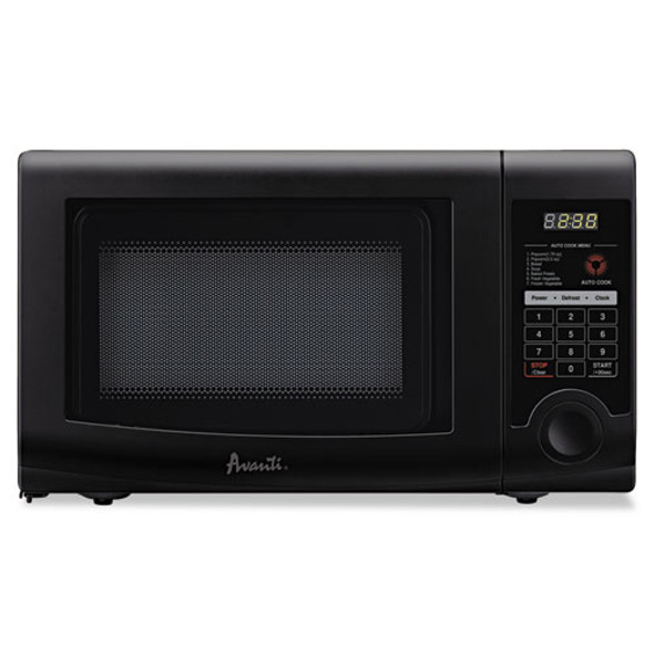 0.7 Cubic Foot Capacity Microwave Oven, 700 Watts, Black