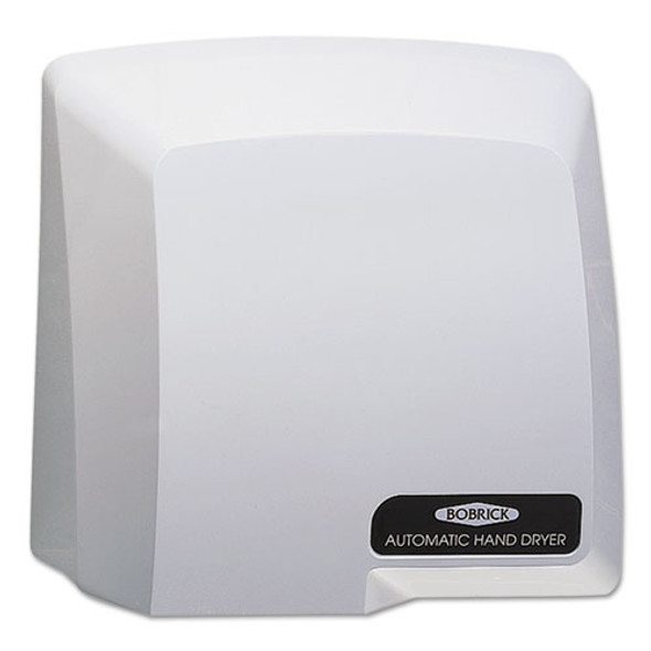 Compact Automatic Hand Dryer, 115v, Gray