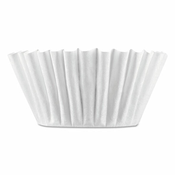 Coffee Filters, 8/10-cup Size, 100/pack, 12 Packs/carton