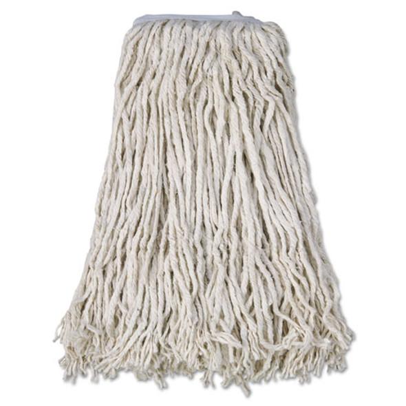Cotton Mop Head, Cut-end, #32, White, 12/carton