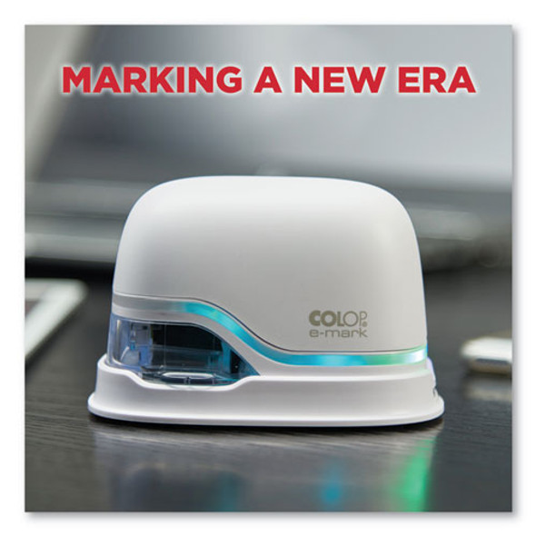 Digital Marking Device, Customizable Size And Message With Images, White