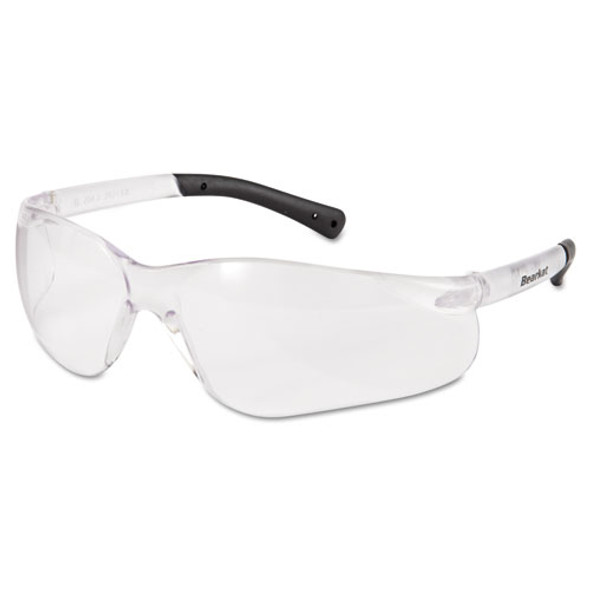Bearkat Safety Glasses, Frost Frame, Clear Lens - IVSCRWBK110AFBX