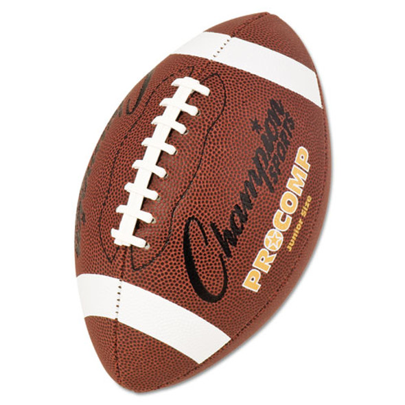 "Pro Composite Football, Junior Size, 20.75"", Brown"