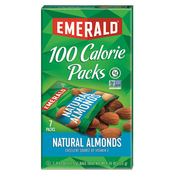 100 Calorie Pack All Natural Almonds, 0.63 Oz Packs, 84/carton