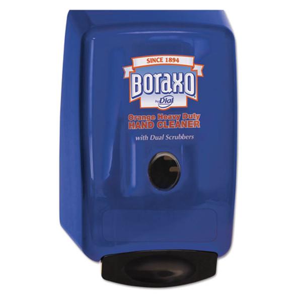 "2l Dispenser For Heavy Duty Hand Cleaner, 10.49"" X 4.98"" X 6.75"", Blue, 4/carton"