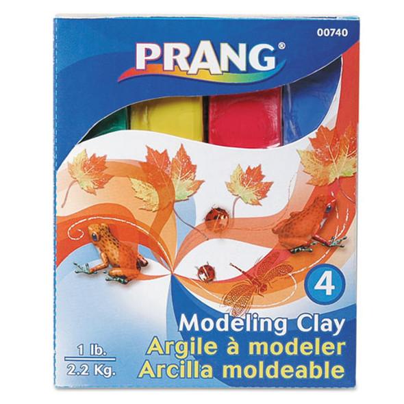 Modeling Clay Assortment, 1/4 Lb Each Blue/green/red/yellow, 1 Lb - IVSDIX00740