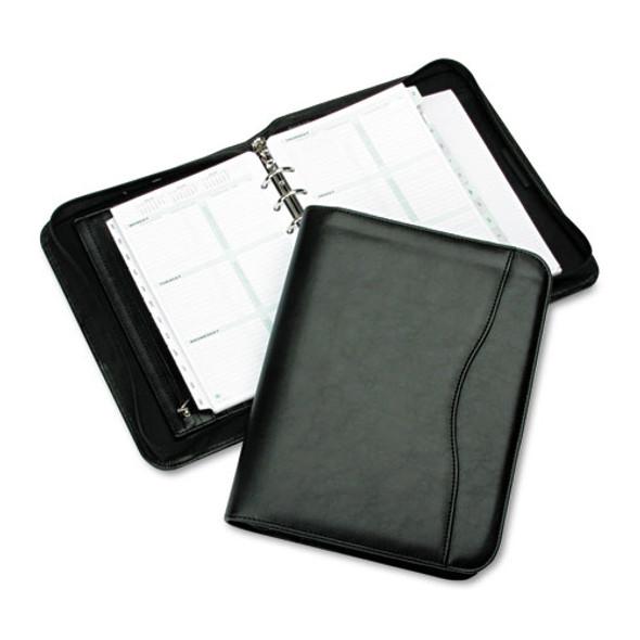 Avalon Simulated Leather Starter Set, 8 1/2 X 5 1/2, Black