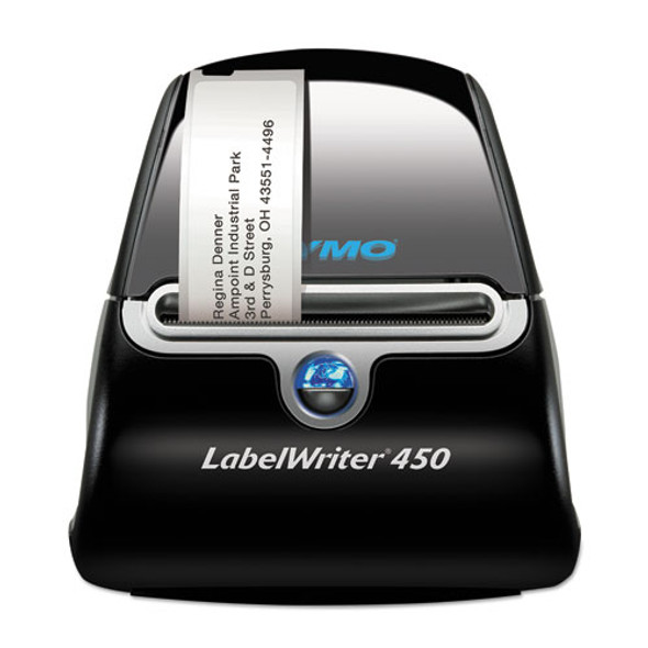 "Labelwriter 450 Label Printer, 2 3/10"" Labels, 51 Labels/min, 5w X 7.4d X 5.2h"
