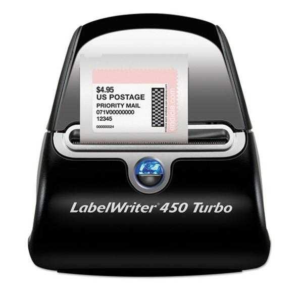 Labelwriter 450 Turbo Printer, 71 Label/min, 5w X 7.4d X 5.5h