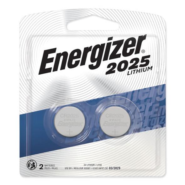 2025 Lithium Coin Battery, 3v, 2/pack