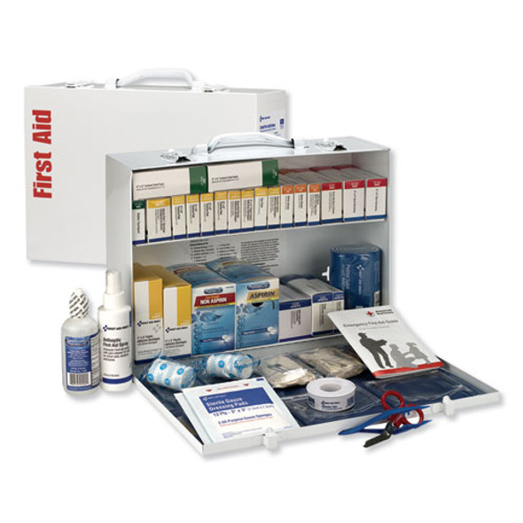 Ansi 2015 Class B+ Type I & Ii Industrial First Aid Kit/75 People, 446 Pieces