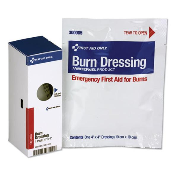 Smartcompliance Refill Burn Dressing, 4 X 4, White - IVSFAOFAE7012