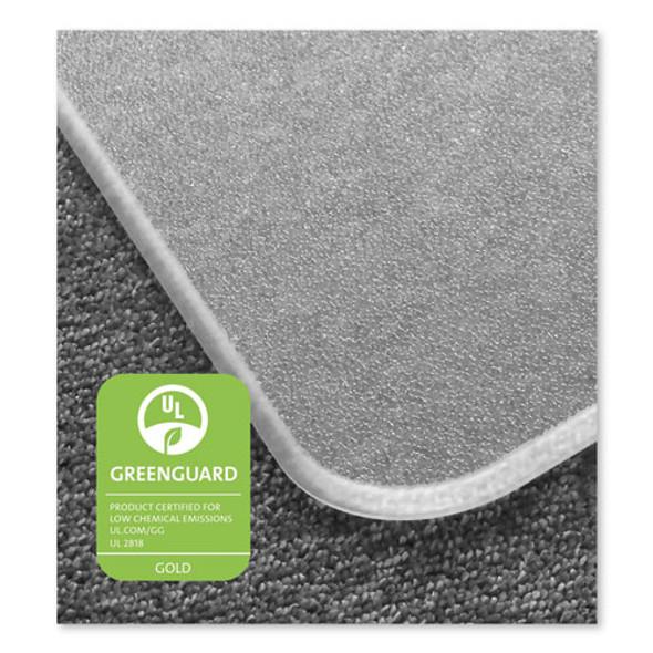 Cleartex Megamat Heavy-duty Polycarbonate Mat For Hard Floor/all Carpet, 46 X 53, Clear