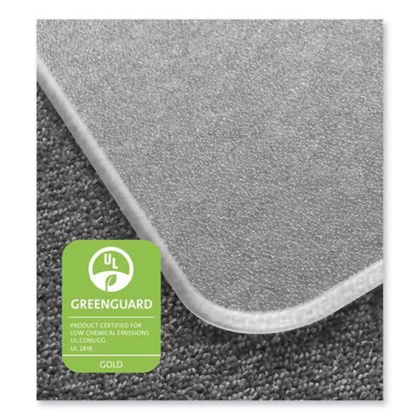 Cleartex Megamat Heavy-duty Polycarbonate Mat For Hard Floor/all Carpet, 46 X 60, Clear