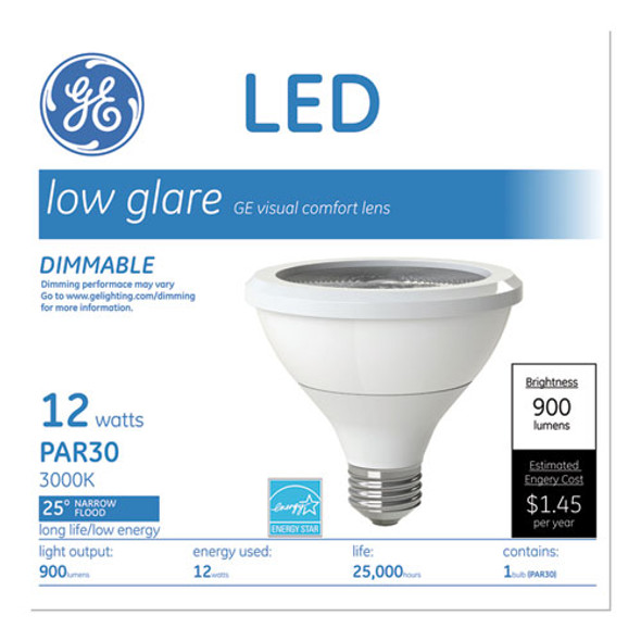 Led Par30 Dimmable Warm White Flood Light Bulb, 2700k, 12 W