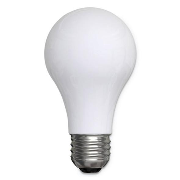 Reveal A19 Light Bulb, 53 W, 4/pack