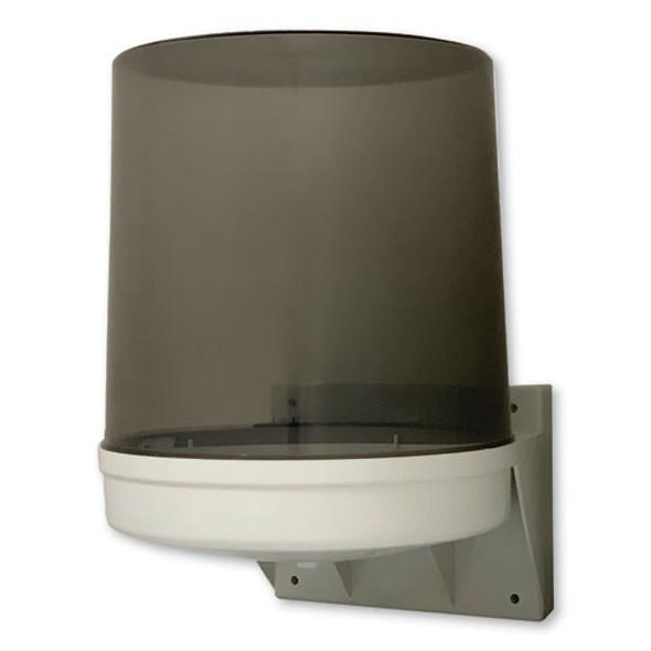 "Center Pull Towel Dispenser, 10 1/2"" X 9"" X 14 1/2"", Transparent"