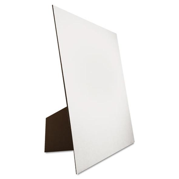 Easel Backed Board, 22x28, White, 1/each