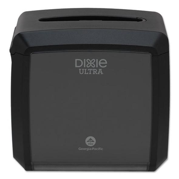 """Tabletop Napkin Dispenser, 7.6"""" X 6.1"""" X 7.2"""", Black"""