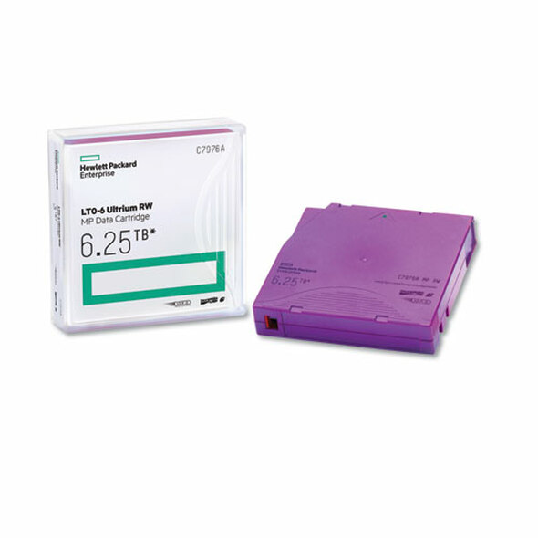 "1/2"" Ultrium Lto-6 Cartridge, Mp, 2775ft, 2.5tb Native/6.25 Compressed"