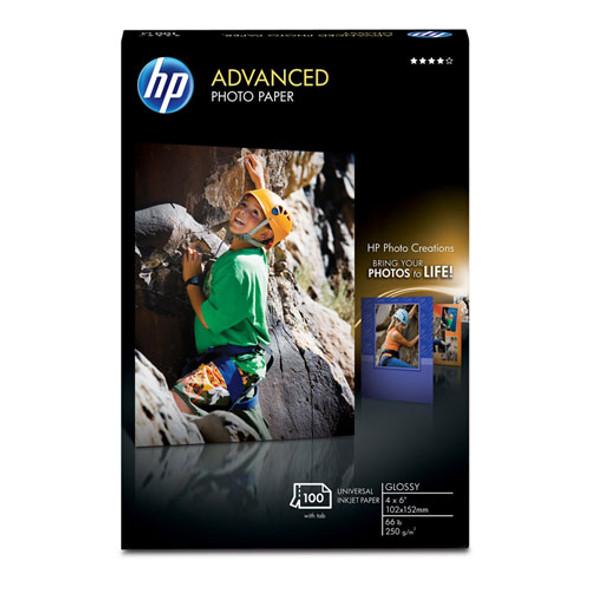 Advanced Photo Paper, 10.5 Mil, 4 X 6, Glossy White, 100/pack