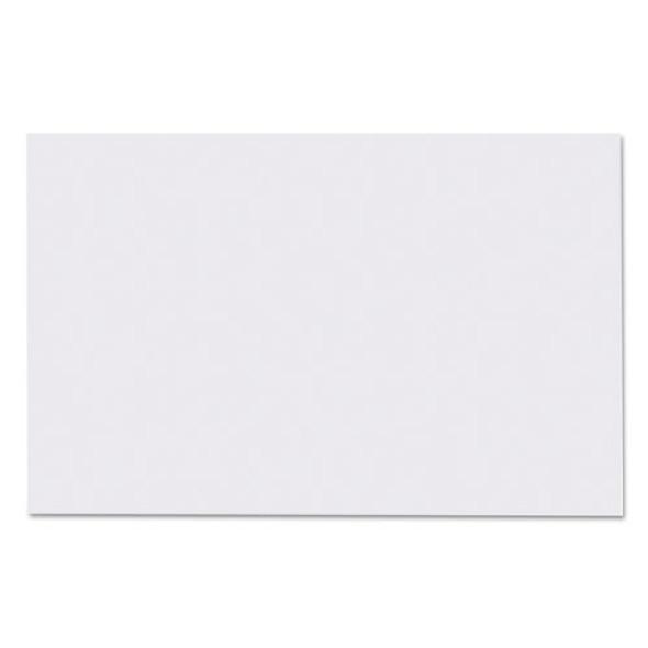 Straight Edge Paper Bath Mat, 14 X 21.25, White, 500/carton