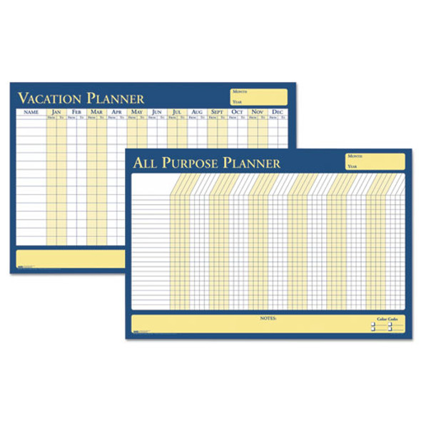 100% Recycled All-purpose/vacation Plan-a-board Planning Board, 36 X 24